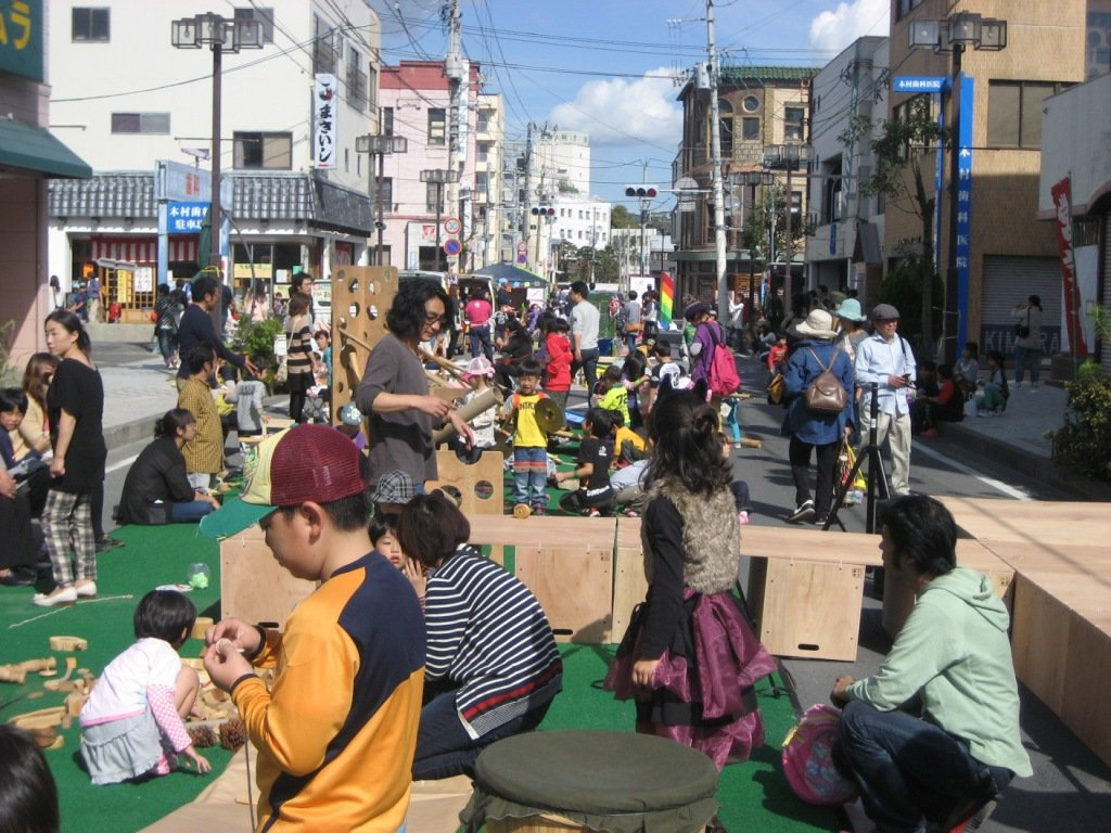 Support for children in disaster areas in Japan