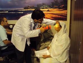 Nazia investigated for IOL treatment