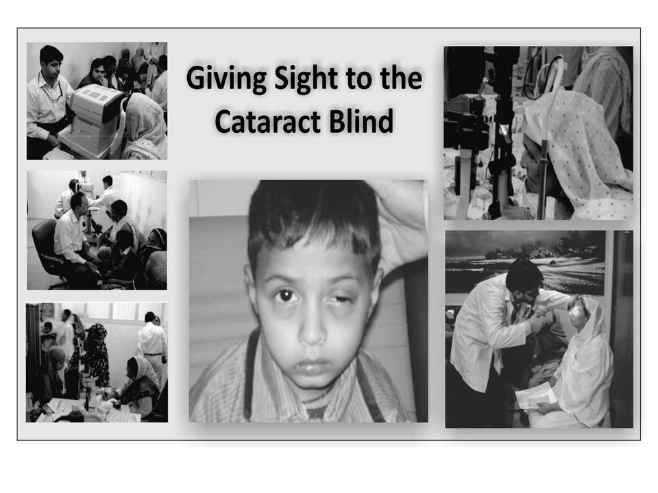 Giving Sight to the Cataract Blind
