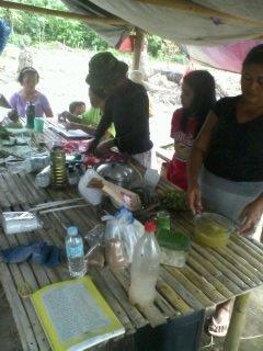 women procesing herbal