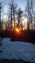 A most beautiful sunset