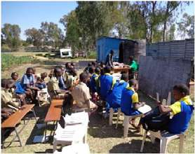 Build a classroom block-Second Chance Education