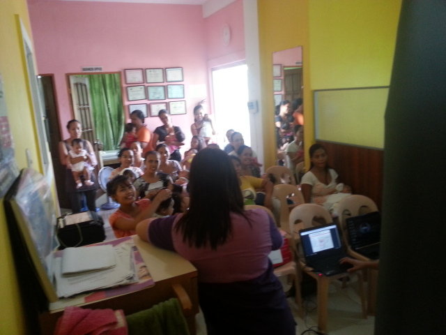So many mothers hungry to learn child health