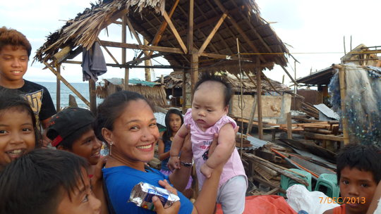 New little life among the rubble and rebuilding