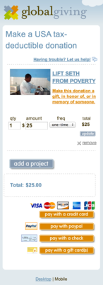 The new mobile-friendly checkout flow