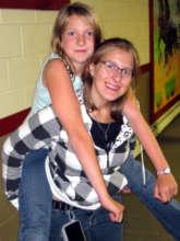 Amanda at camp several years later