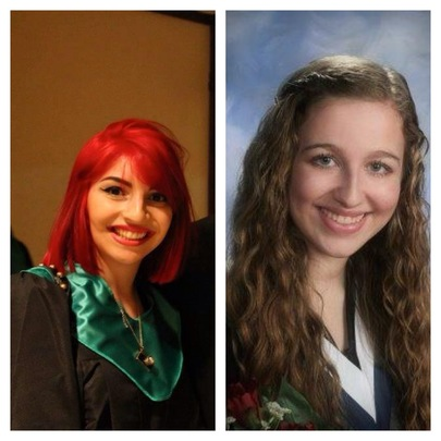2014 Scholarship Winners: Hayley and Michelle