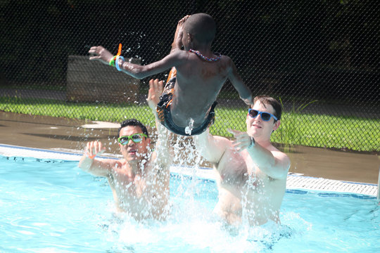Pool Toss