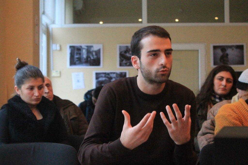 Discussion in Ozurgeti, Guria, December 1st, 2015