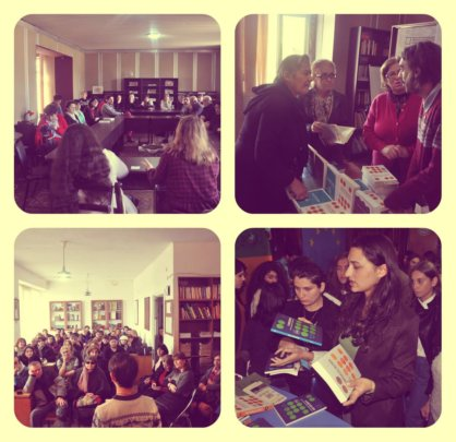 Book Discussion at Telavi Central Library