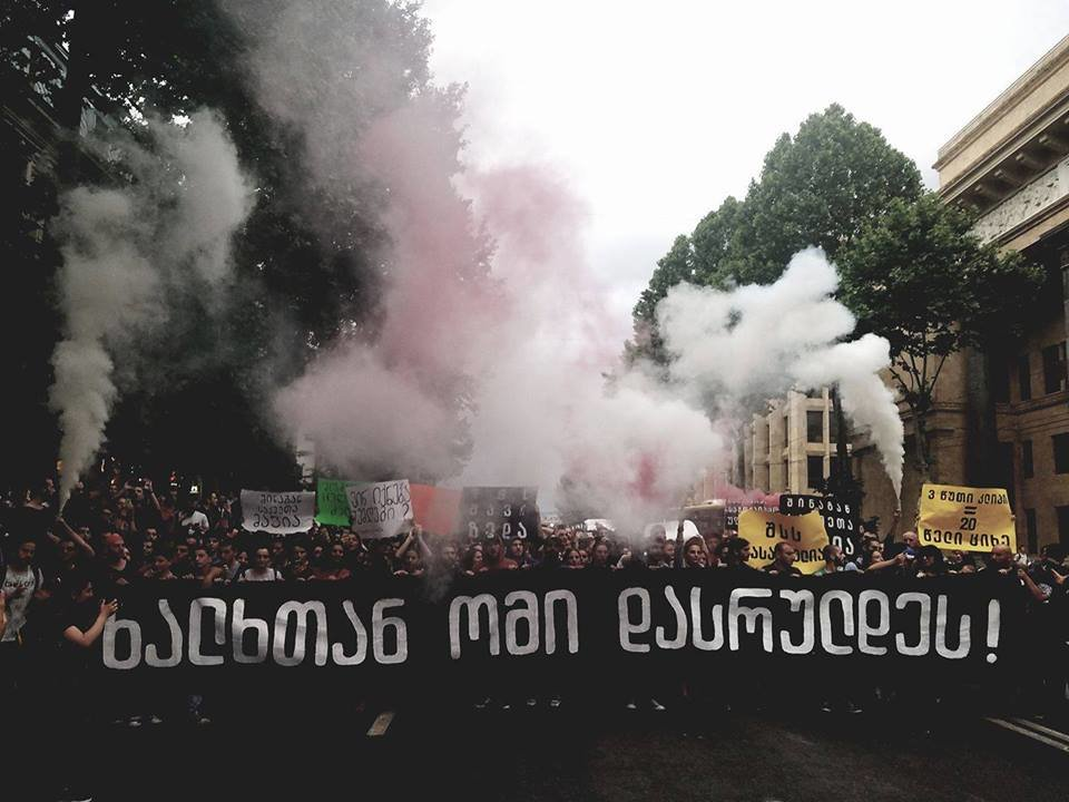 Demonstration for cannabis decriminalization