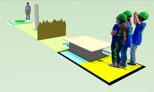 Example of the 2016 Tech Challenge course