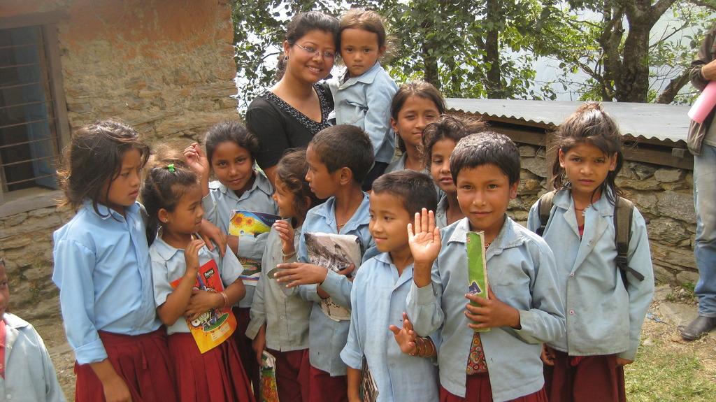 North Gorkha School Children