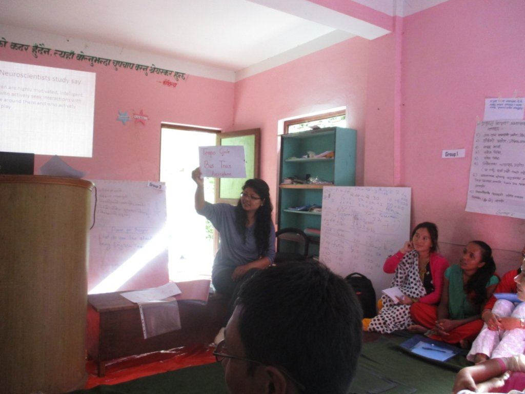 Subject Specific Training for English