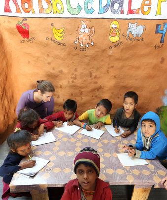 The little school that's teaching a whole village.