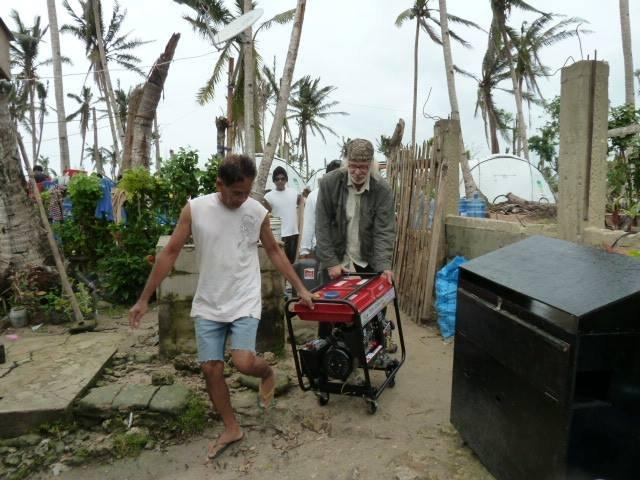 Generator for Bantayan Island
