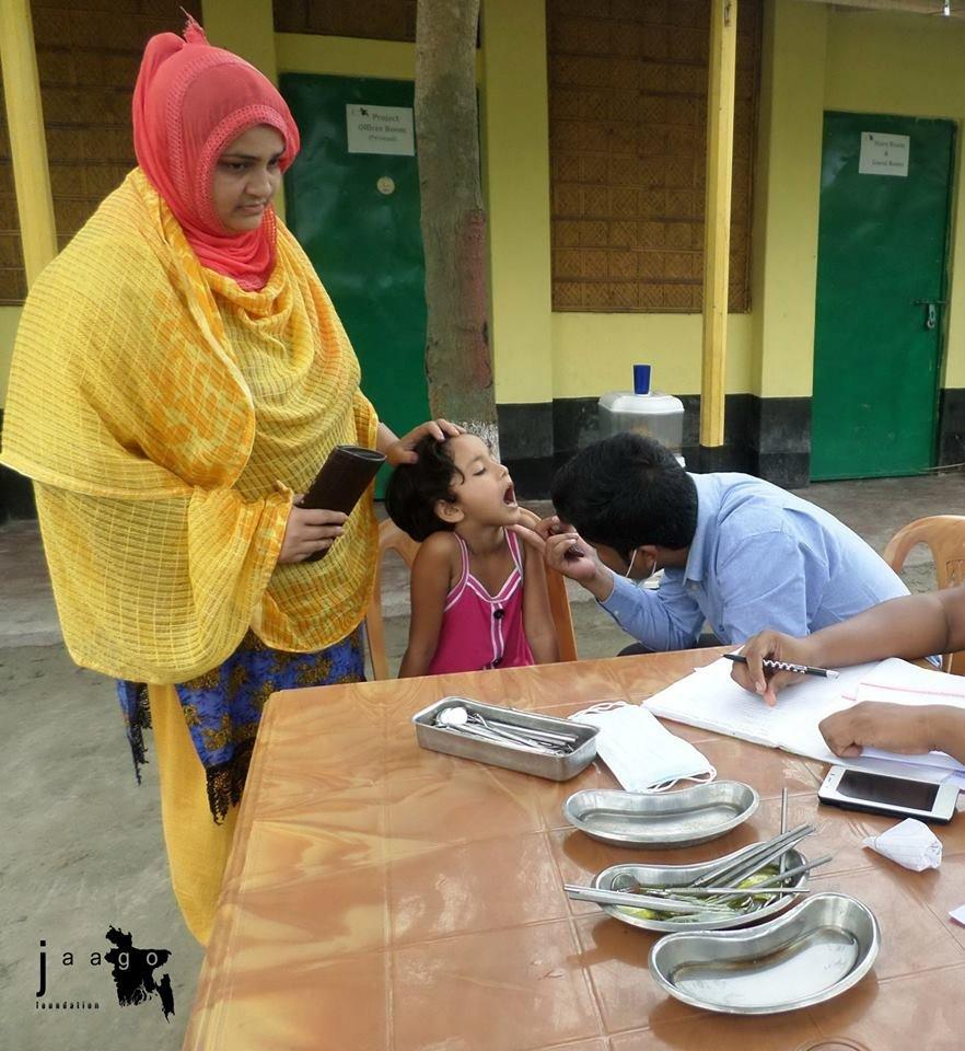 Dental Camp at JAAGO Rangpur School