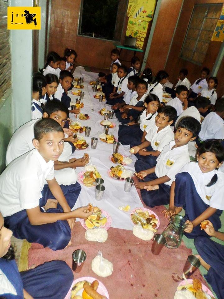 Iftar at Chittagong School