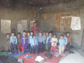 Gujarpa Lower Secondary School pre-primary class