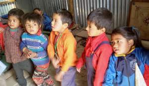 Guranse Primary School children singing