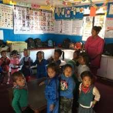 Guranse Primary School pre-primary classroom