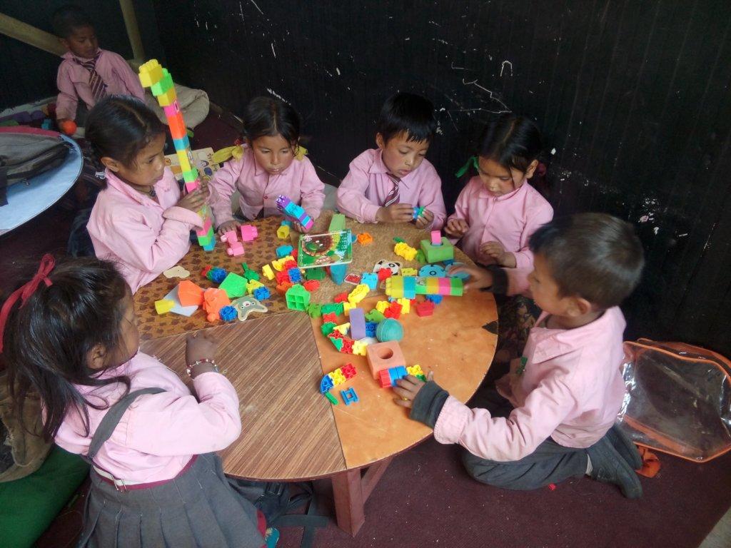 Janajyoti students enjoy hands-on learning