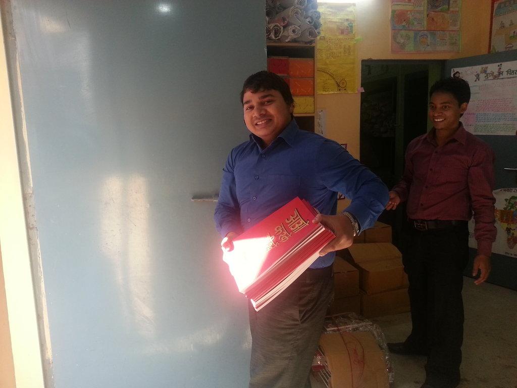 Asif hard at work