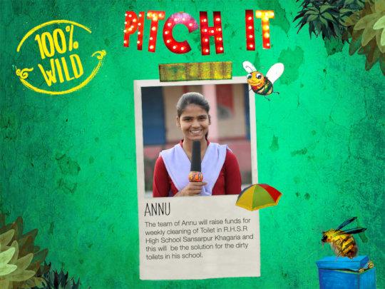 Annu's 100% Wild Idea