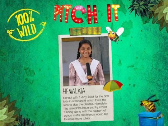 Hemalata's 100% Wild Idea