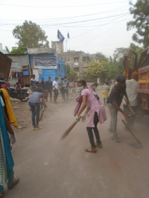 Cleaning the community