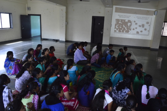 Awareness session on nutrition