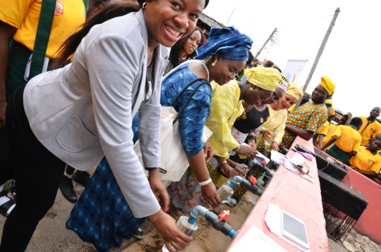 Community Stakeholders commission water project