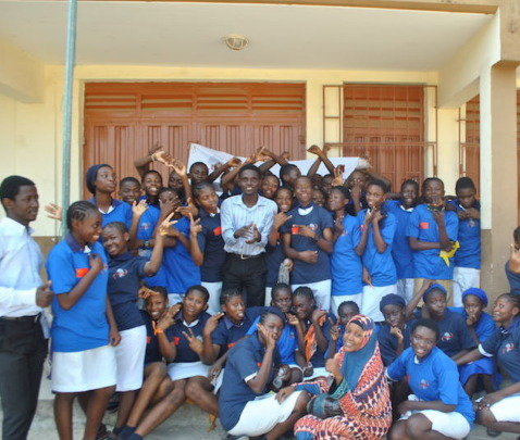 YDTP students of Government College Maroko Lagos