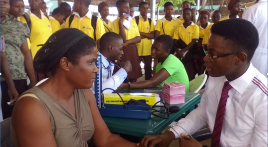 Free medical check-up for Itam market Women