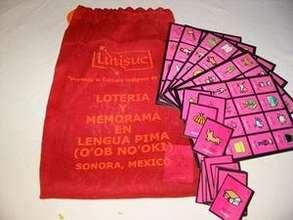 Didactic game in Pima language.
