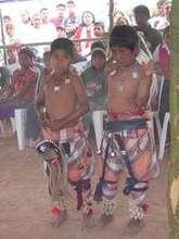 Yaqui kids as Pascola Dancers