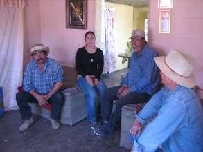 Meeting the Sonoran Kickapoo Chief