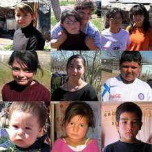 Kickapoo kids from Sonora, Mexico