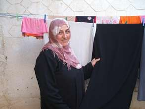 Mrs. Al Bahry and the family laundry