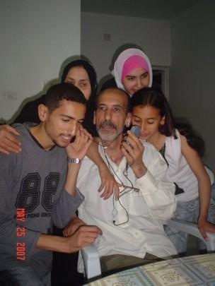 Family from Gaza