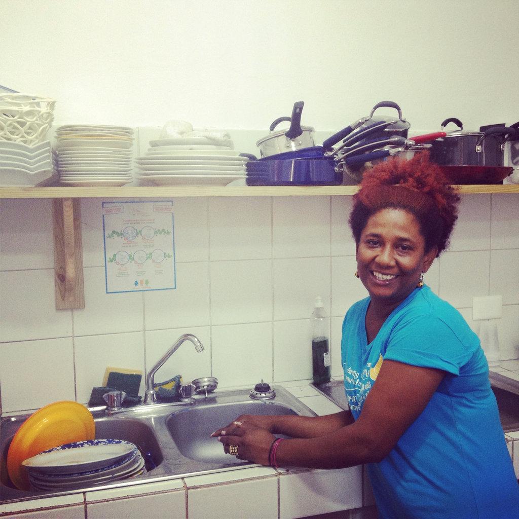 Orquidea in the kitchen
