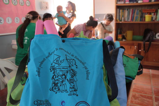 School kits for the children and teenagers