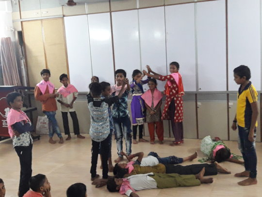 Children's drama to explain systems of government
