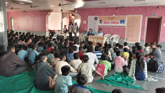 Annual Adolescent program for boys