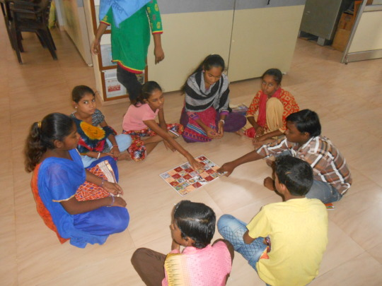 Learning about child rights during Balmela
