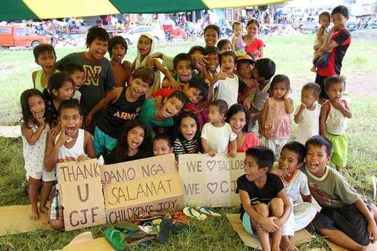 Child Day Care Centers for 100 Haiyan Kid Victims
