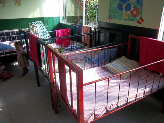 Old cribs in the Pivijay Children's home