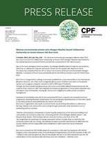 Wangari Maathai press release (PDF)