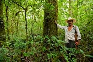 Abel, one of the Sierra Gorda's rural rangers