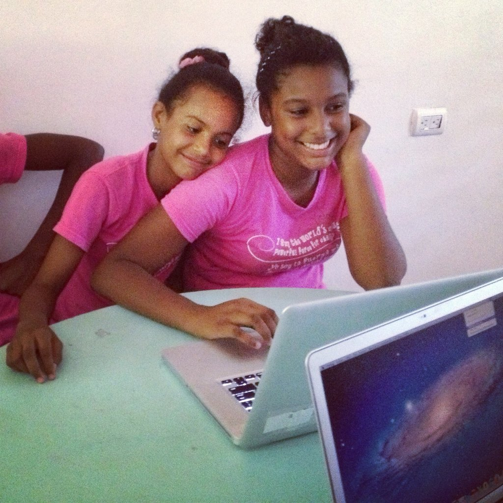 Computer Lab at the Mariposa Center for Girls
